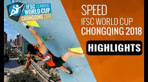 آخرین مرحله جام جهانی رشته سرعت – چین 2018- با حضور رضا علیپور
